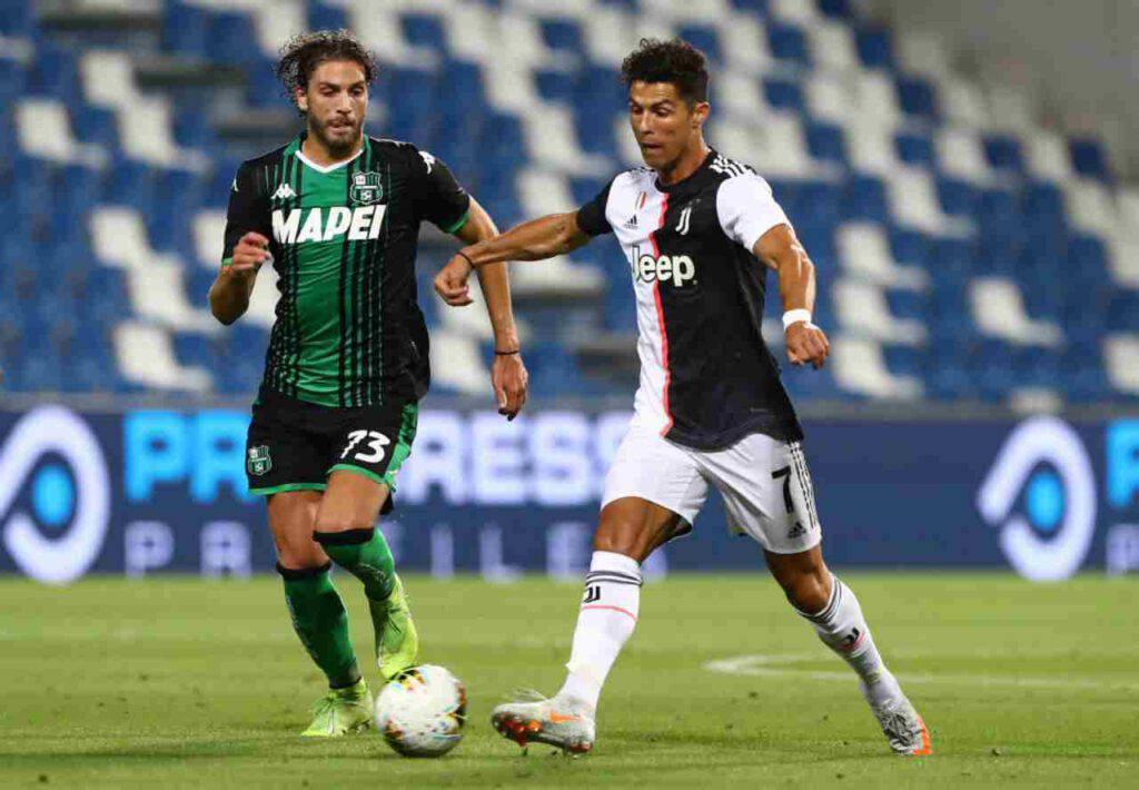 Sassuolo-Juventus, le parole di Sarri nel post partita (Getty Images)