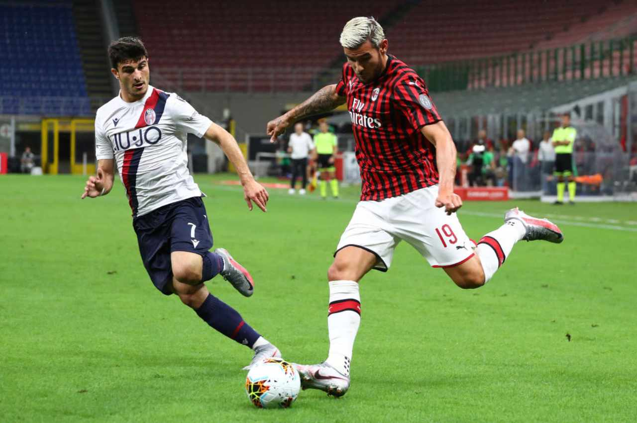 Milan-Bologna 5-1, goleada rossonera: Europa League a un passo (Getty Images)