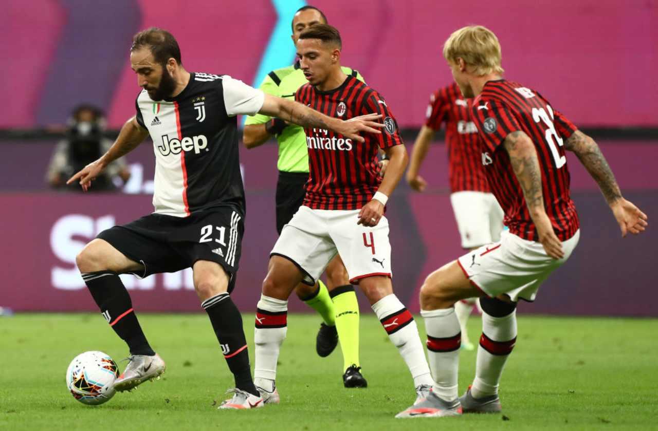 Milan-Juventus 4-2, pazzesca rimonta rossonera. Debacle bianconera