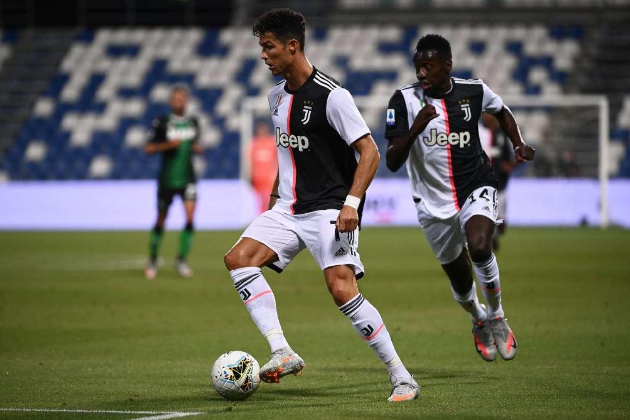 Sassuolo-Juventus, Alex Sandro salva Sarri: neroverdi vicini all'impresa (Getty Images)