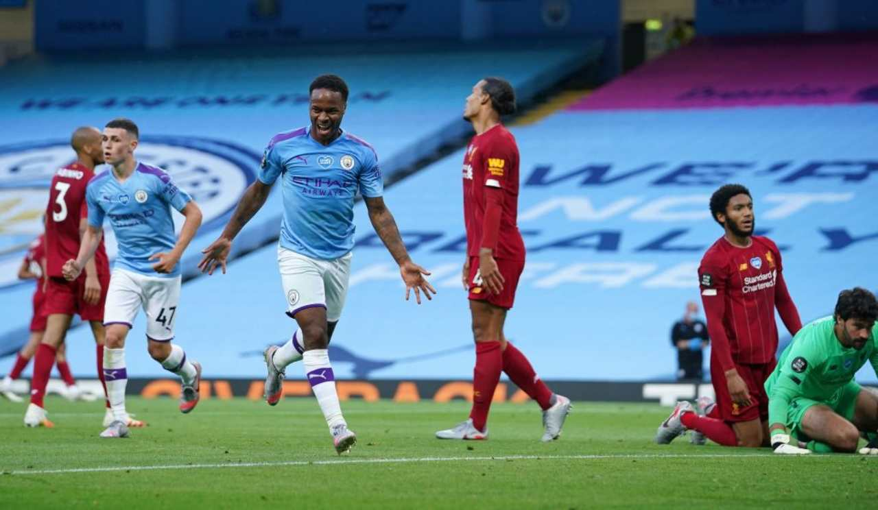 Manchester City-Liverpool, poker umiliante per i campioni d'Inghilterra (Getty Images)