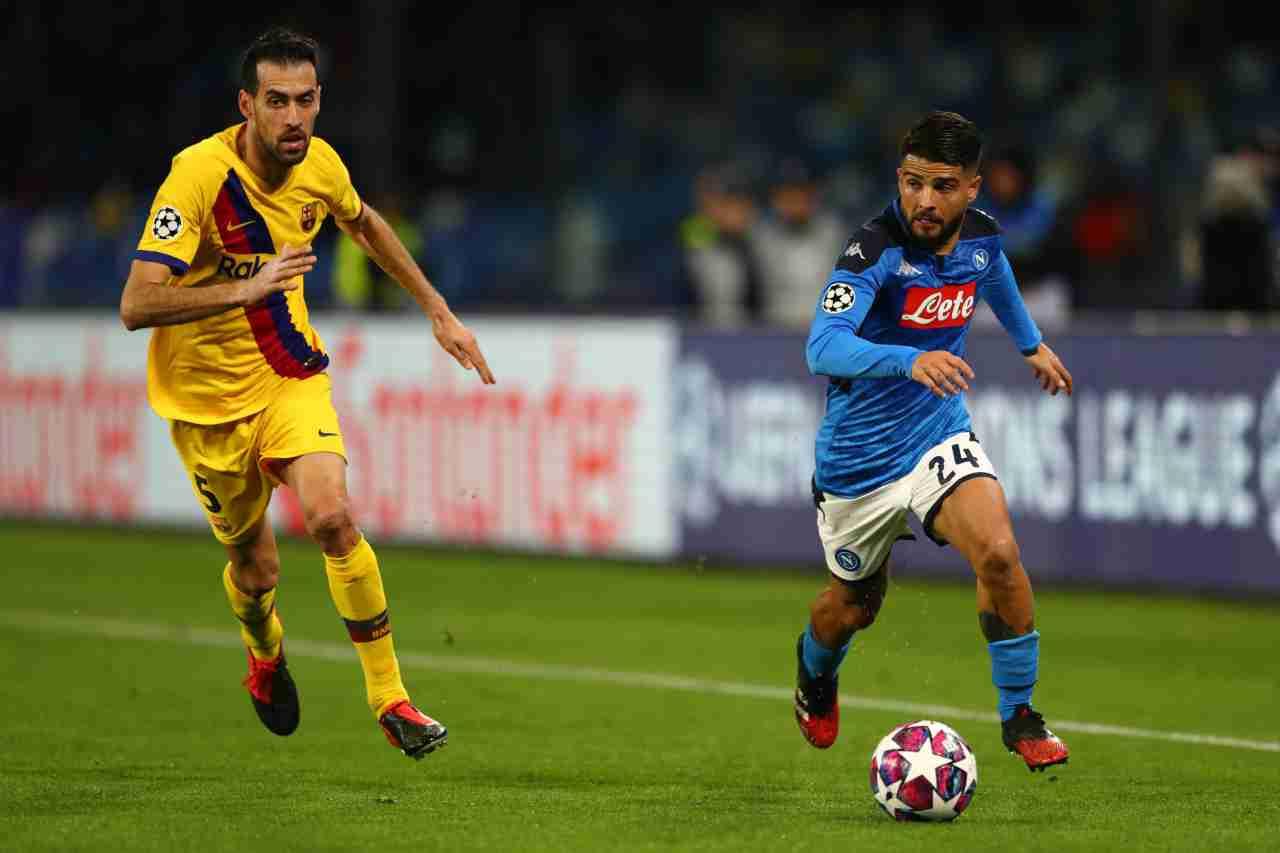 Barcellona-Napoli, ipotesi campo neutro: la decisione in settimana