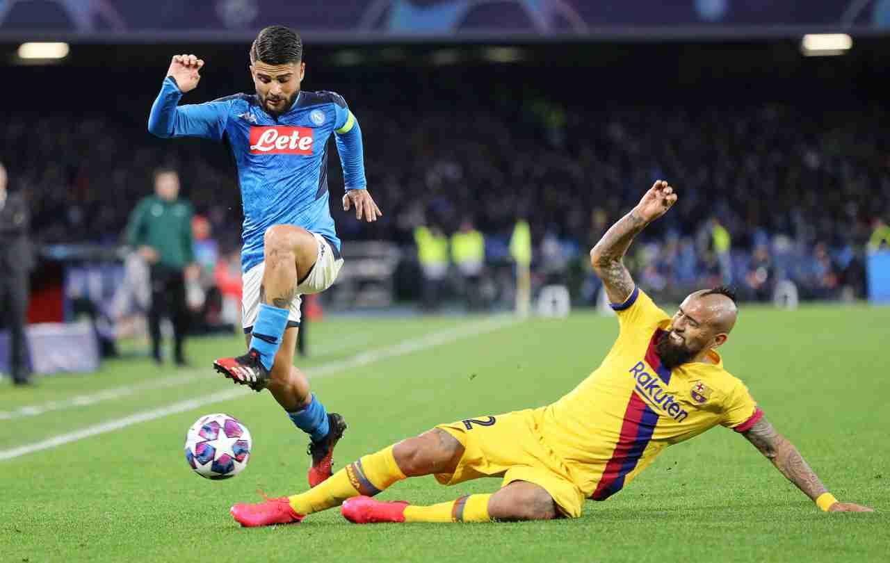 Barcellona-Napoli, De Laurentiis favorevole al campo neutro