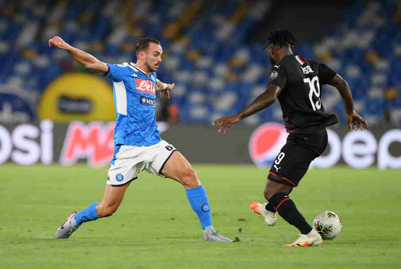 Serie A, la sintesi di Napoli-Milan