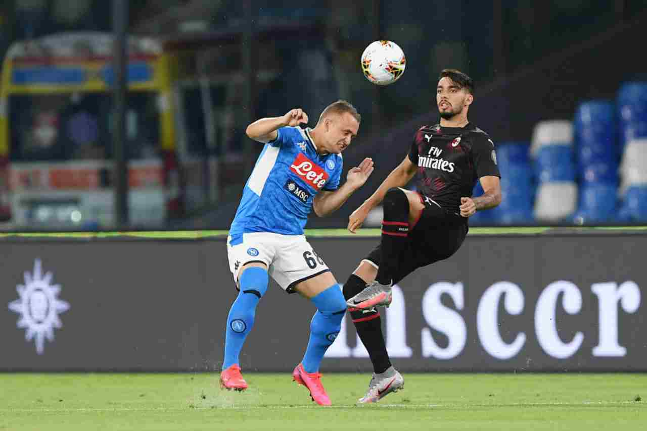 Serie A, highlights Napoli-Milan: gol e sintesi partita - Video