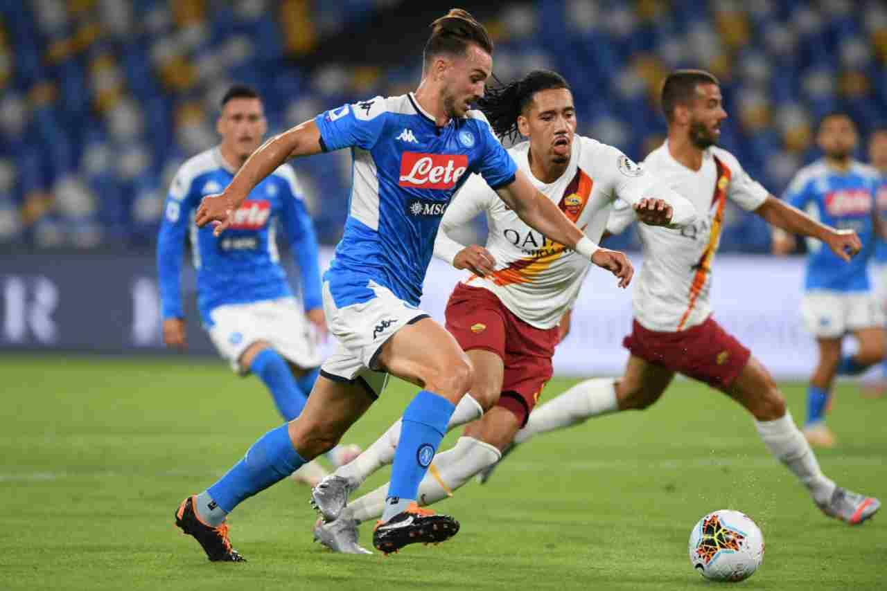 Serie A, gli highlights di Napoli-Roma