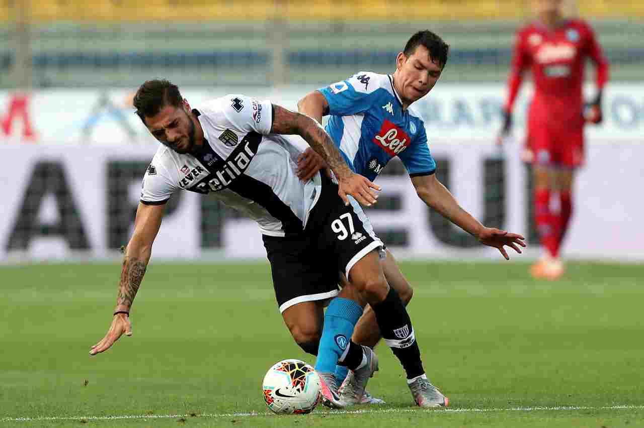 Serie A, highlights Parma-Napoli: gol e sintesi partita