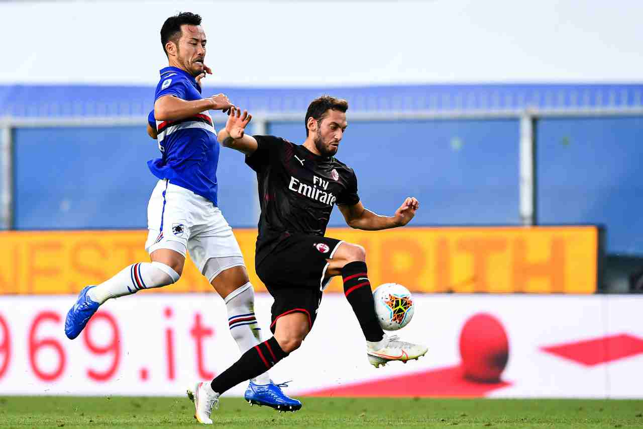 Serie A, la sintesi di Sampdoria-Milan