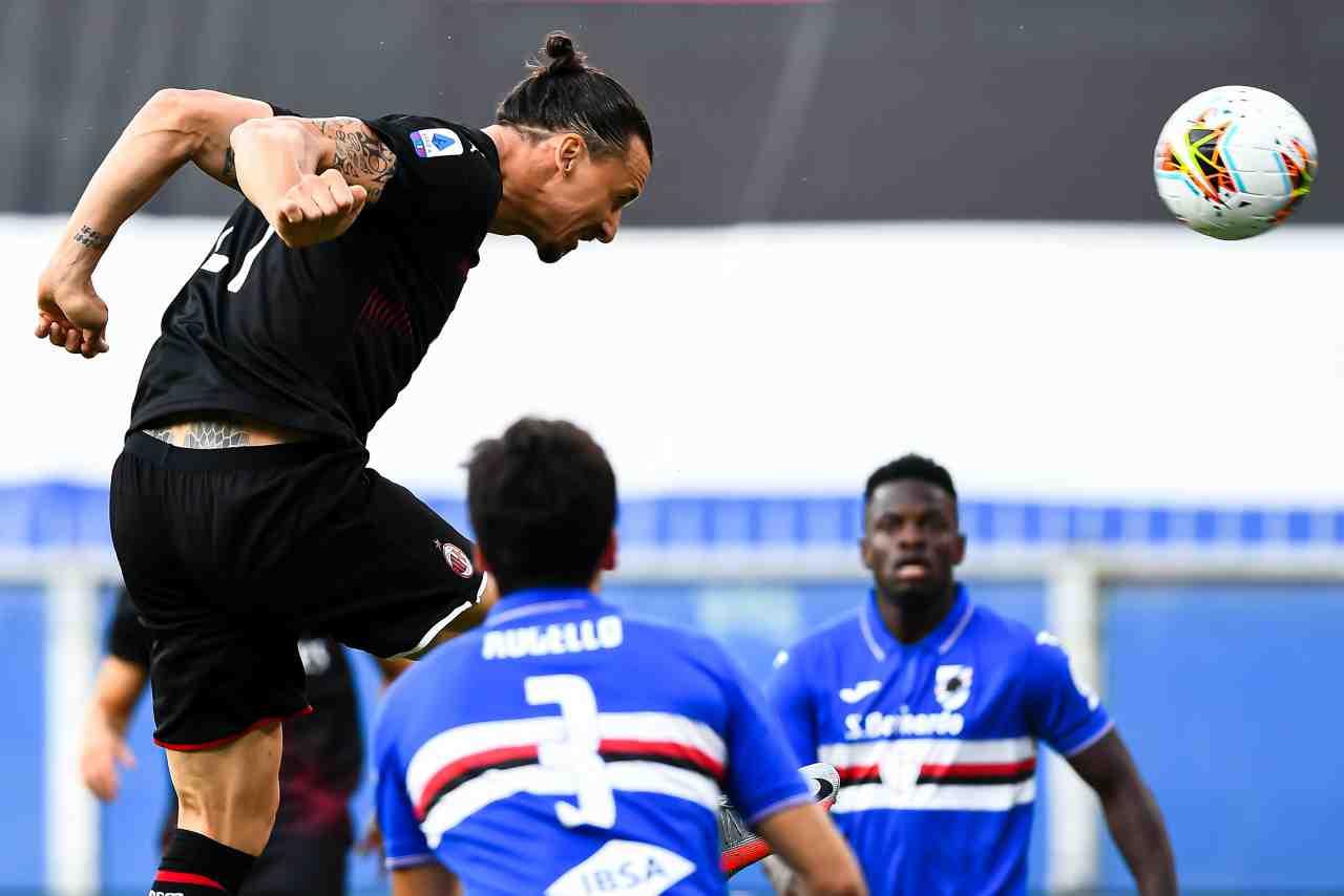 Serie A, highlights Sampdoria-Milan: gol e sintesi partita - Video