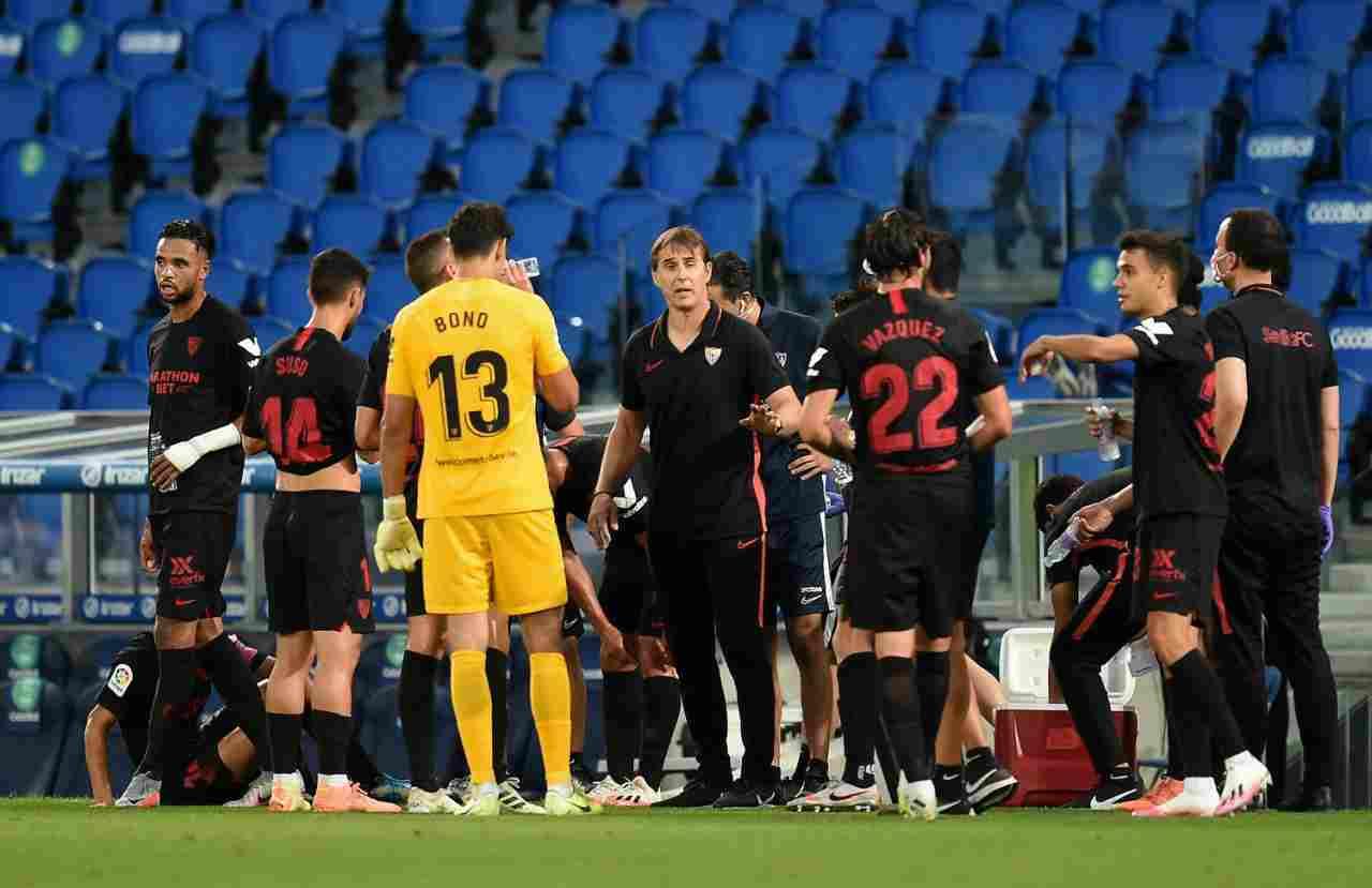 Siviglia, calciatore positivo al Covid-19: svelata l'identità