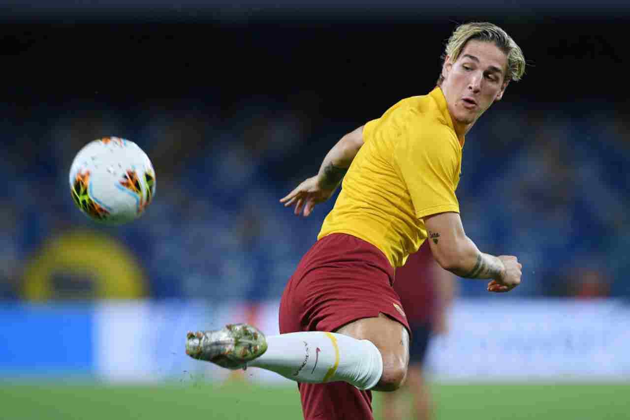 Zaniolo, pressing della Juve (Getty Images)