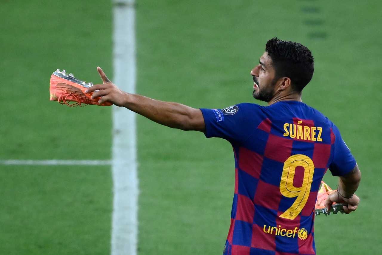 Suarez via da Barcellona, il sogno della Juventus