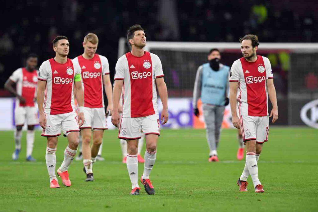 Ajax, alcuni membri della squadra positivi al Coronavirus (Getty Images)