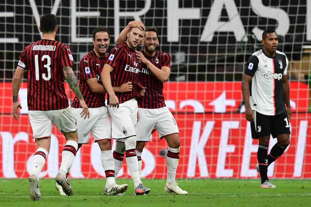 Calciomercato Milan, Rebic pronto a restare. Cosa manca per chiudere l'accordo (Getty Images)
