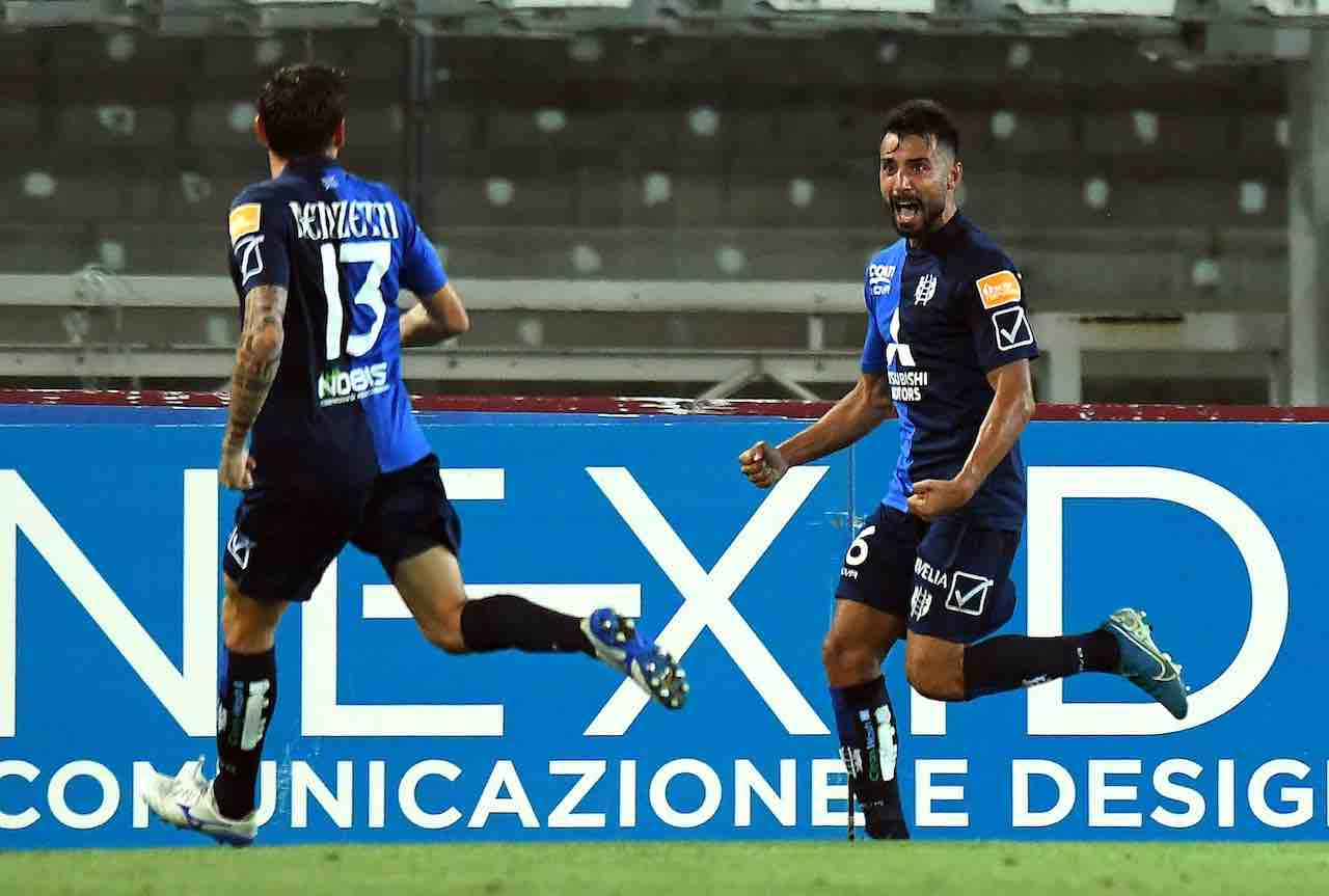 Il Chievo vince con lo Spezia (Getty Images)