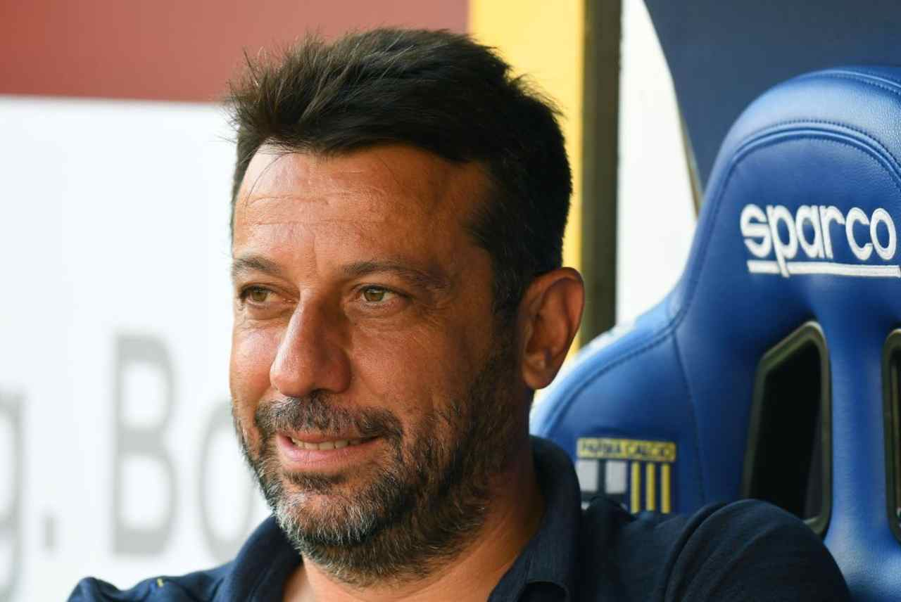 D'Aversa esonerato dal Parma (Getty Images)