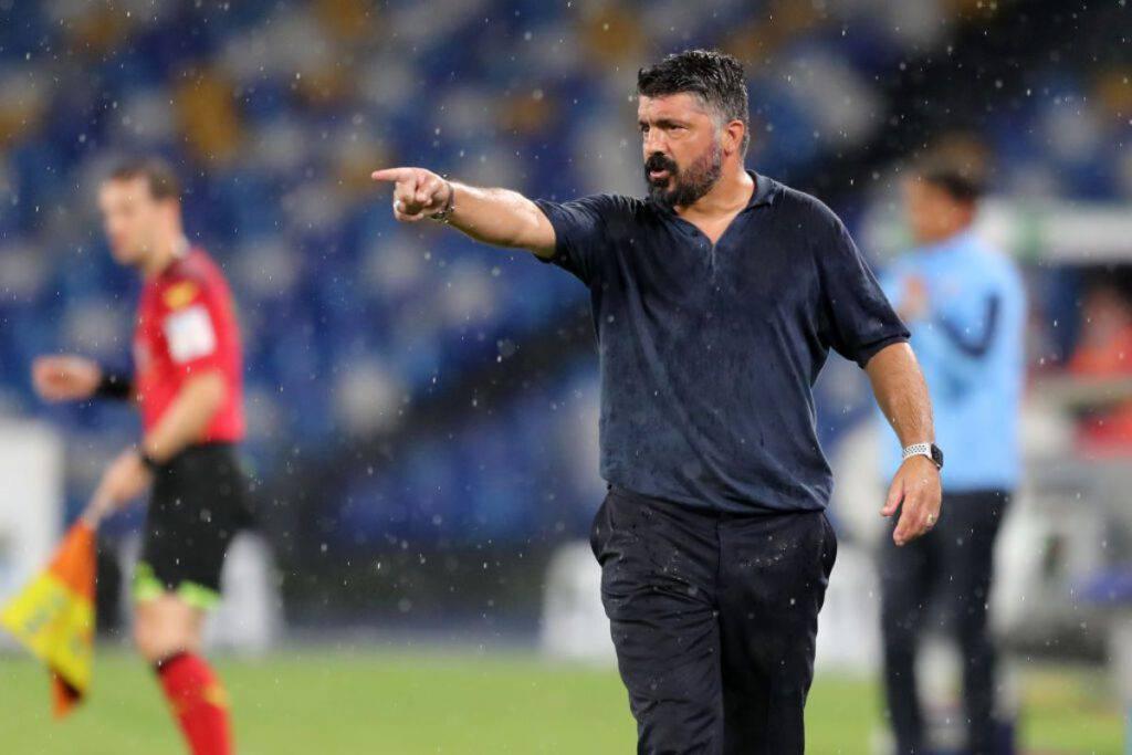 Gattuso Napoli Barcellona