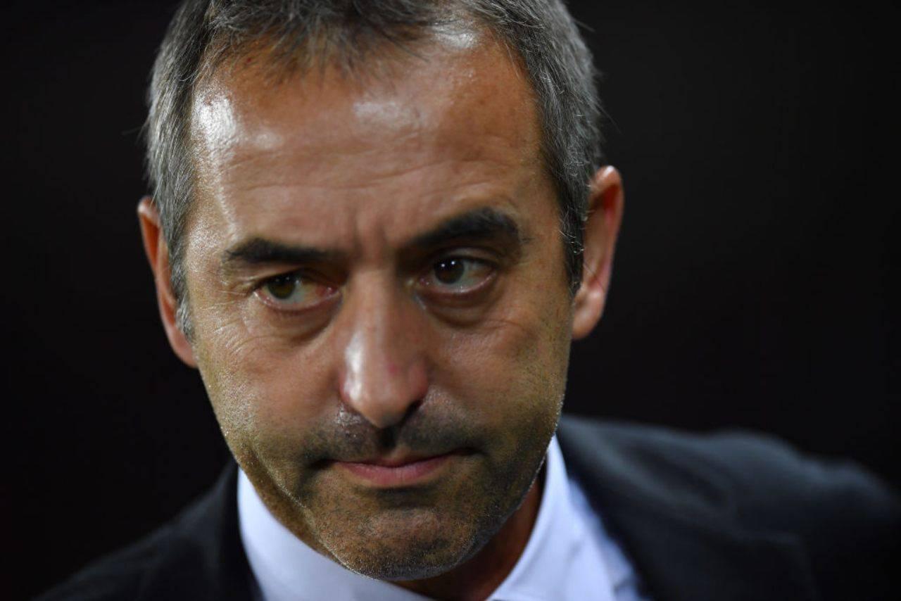 Marco Giampaolo. Il tecnico vuole riportare in Italia Lucas Torreira (Getty Images)