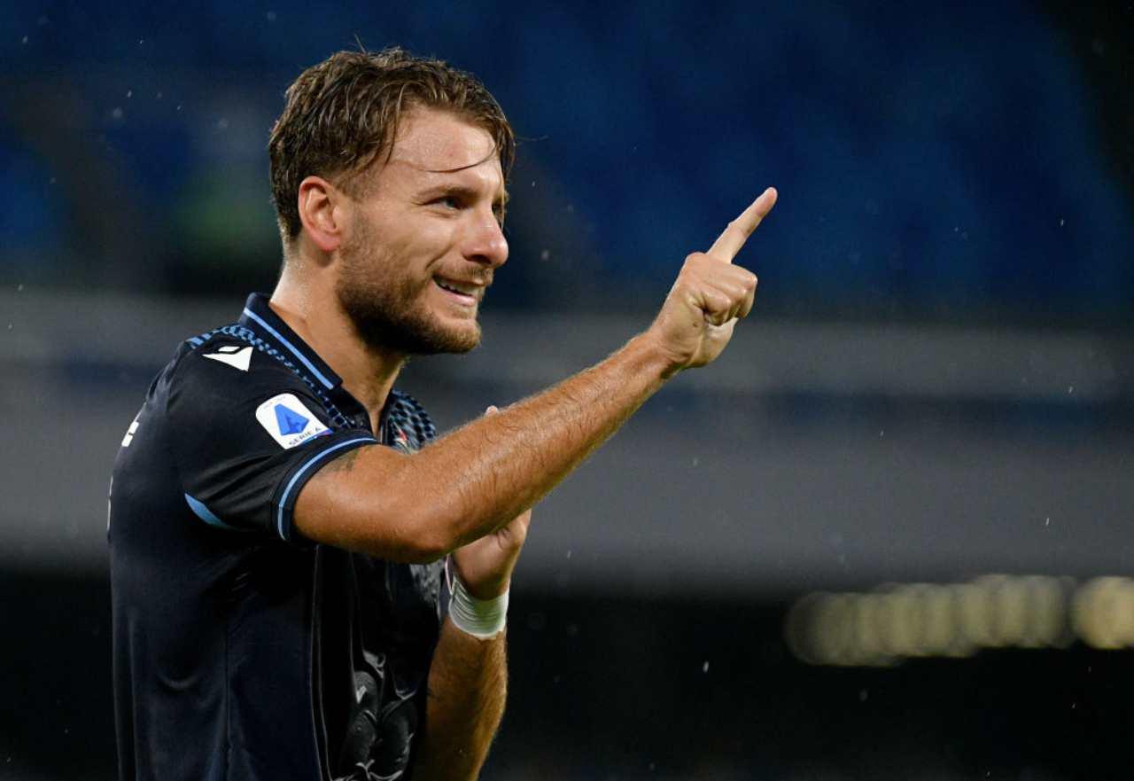 Immobile, ufficiale il rinnovo con la Lazio (Getty Images)