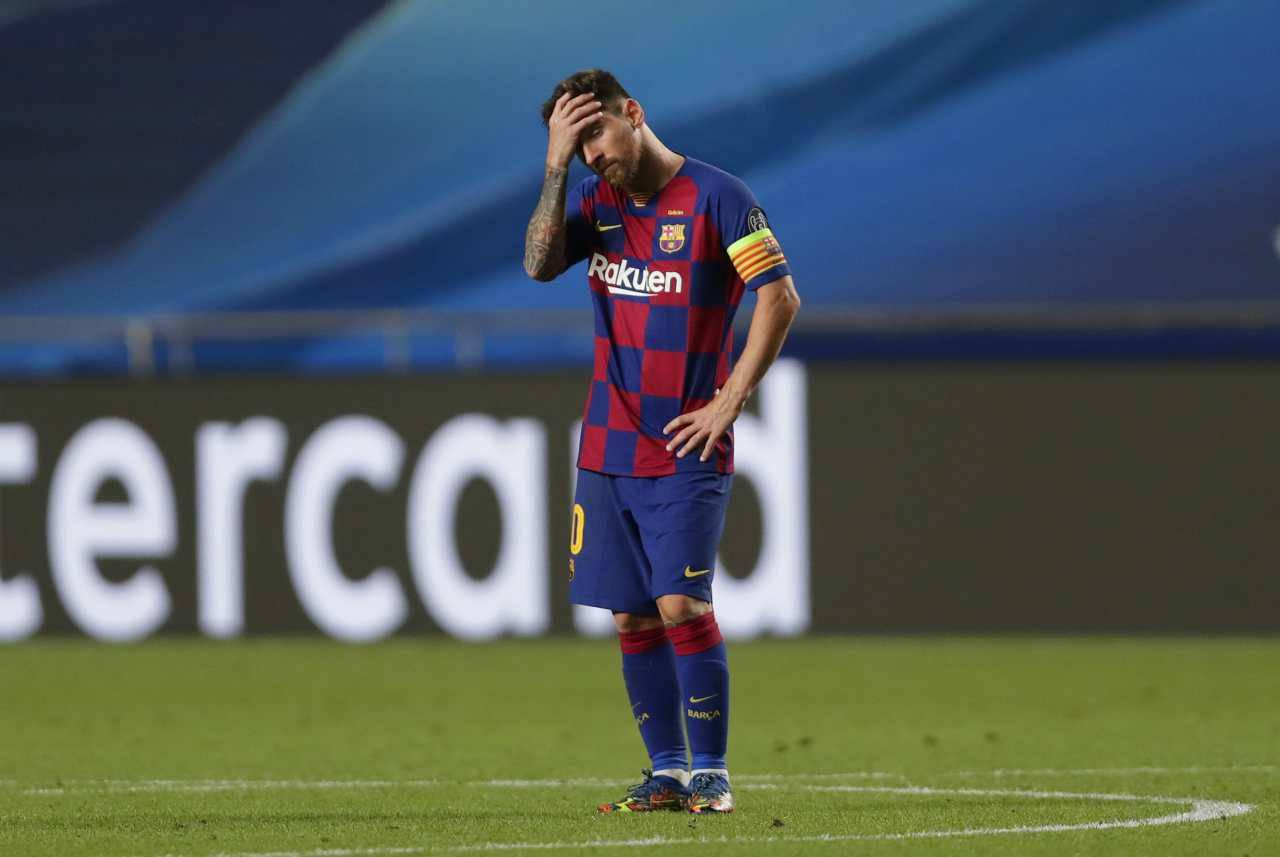 Messi Koeman Barcellona