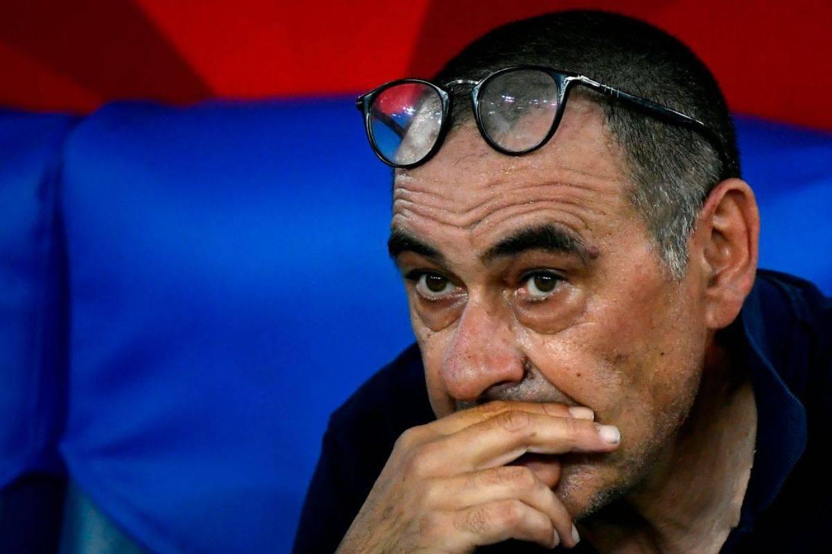 Sarri, solo Bonucci lo saluta sui social (Getty Images)