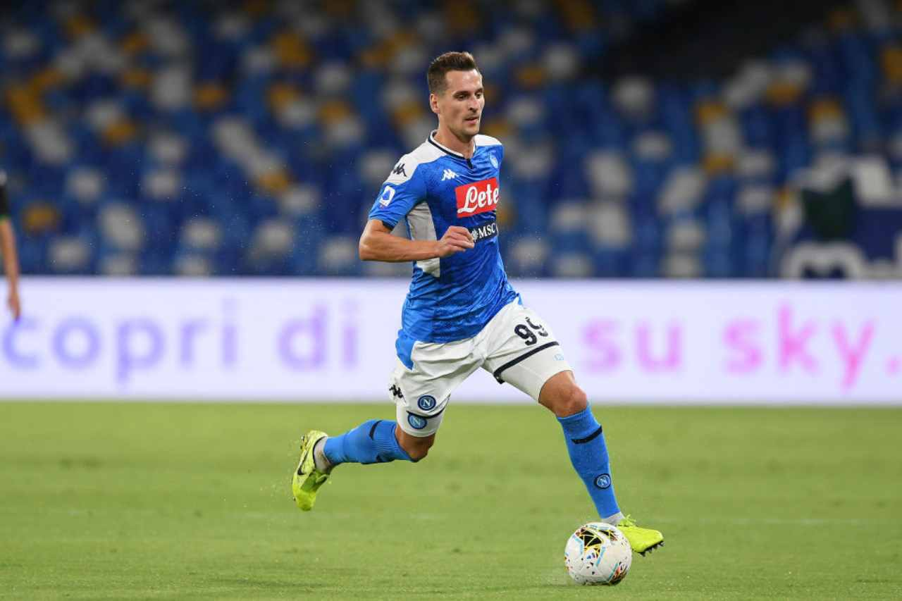 Milik-Juventus, ultimo ostacolo nell'affare (Getty Images)
