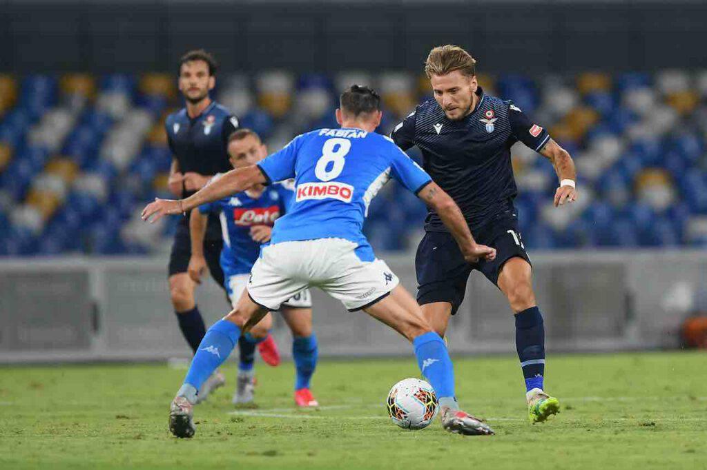 Napoli-Lazio, le parole di Gattuso (Getty Images)