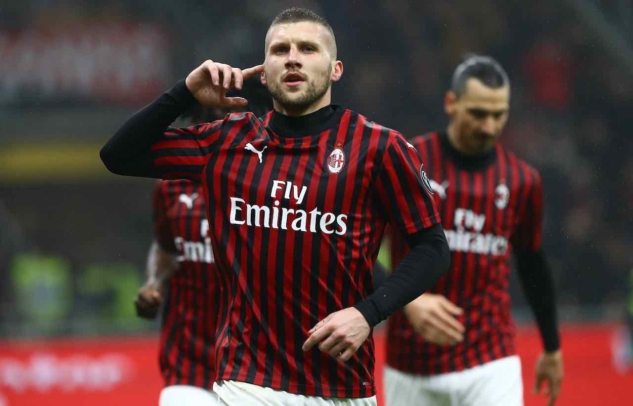 Rebic vuole restare al Milan (Getty Images)