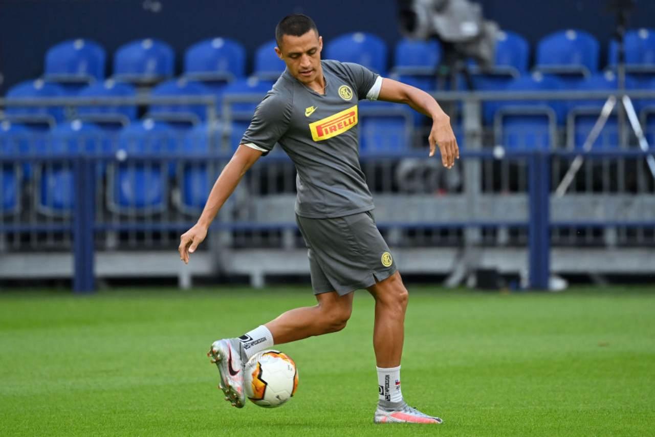 Alexis Sanchez è un nuovo giocatore dell'Inter. A Manchester esultano per la sua partenza (Getty Images)