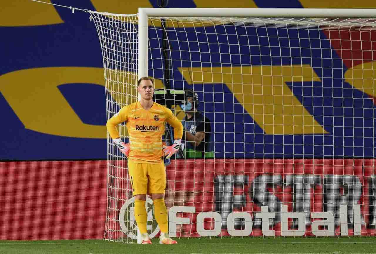 Marc-Andrè ter Stegen, obiettivo dell'Inter per il 2021 (Getty Images)