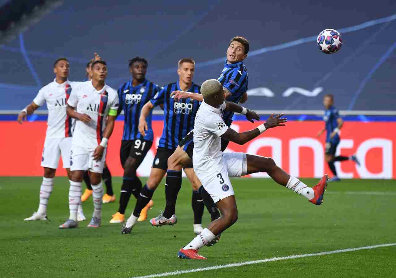 Atalanta-PSG, la sintesi del quarto di Champions League