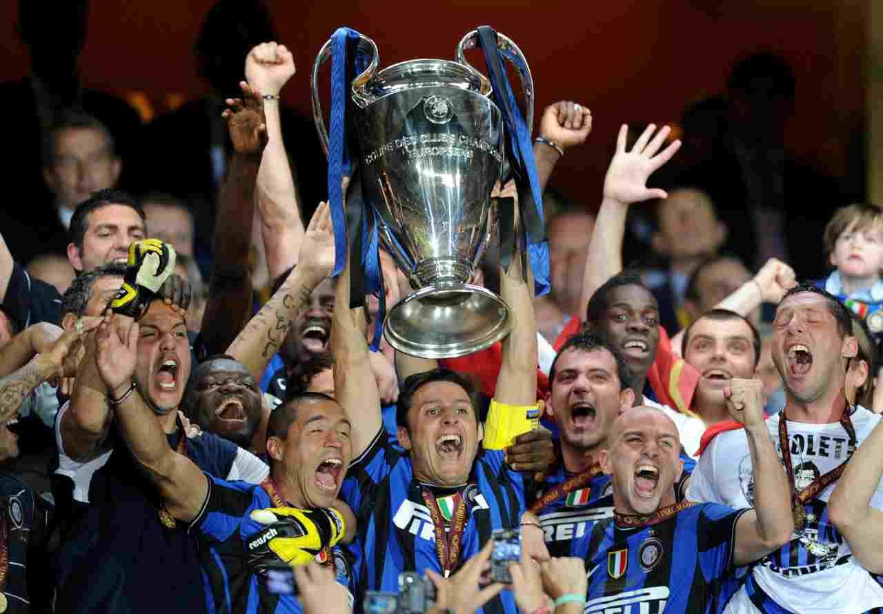 Inter, le finali in Champions League