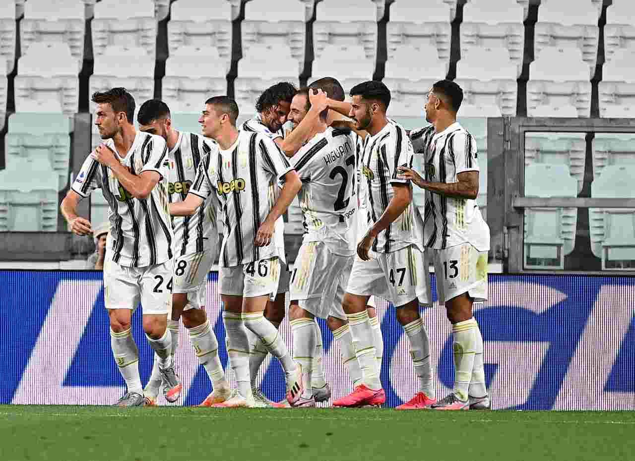 Juventus, festa scudetto: il video