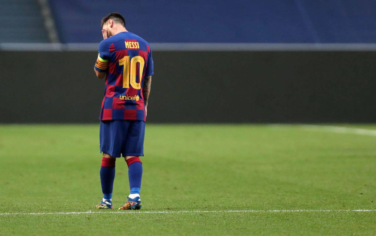 Messi resta al Barça, le parole di Tebas (Getty Images)