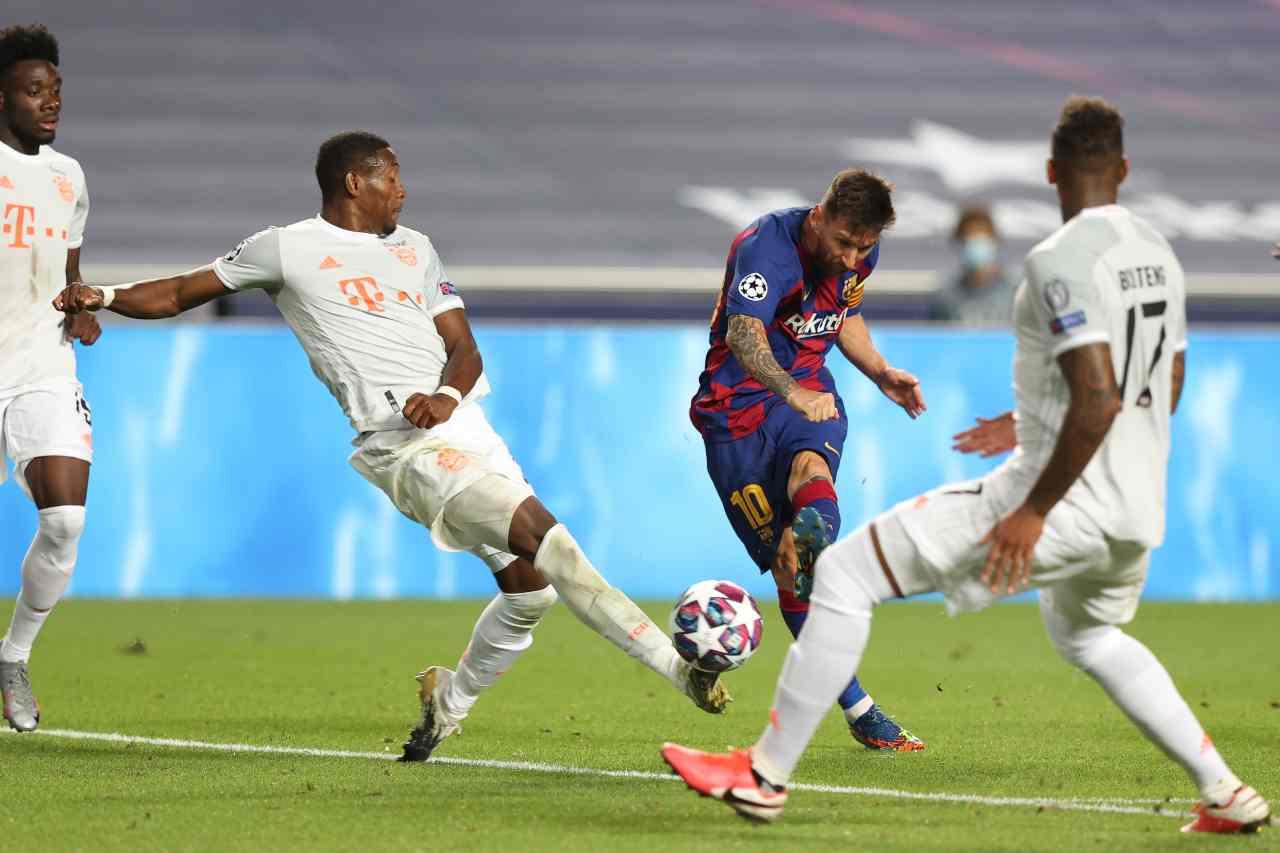 Messi all'Inter, il piano di Suning