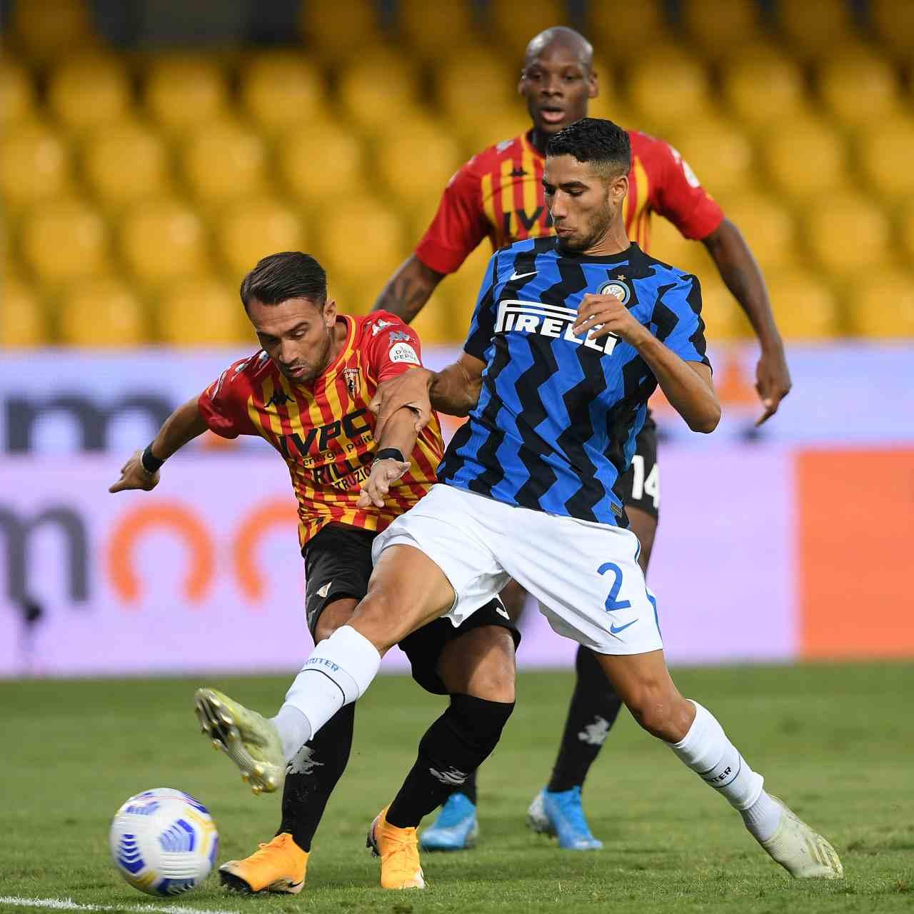Inter-Benevento precedenti