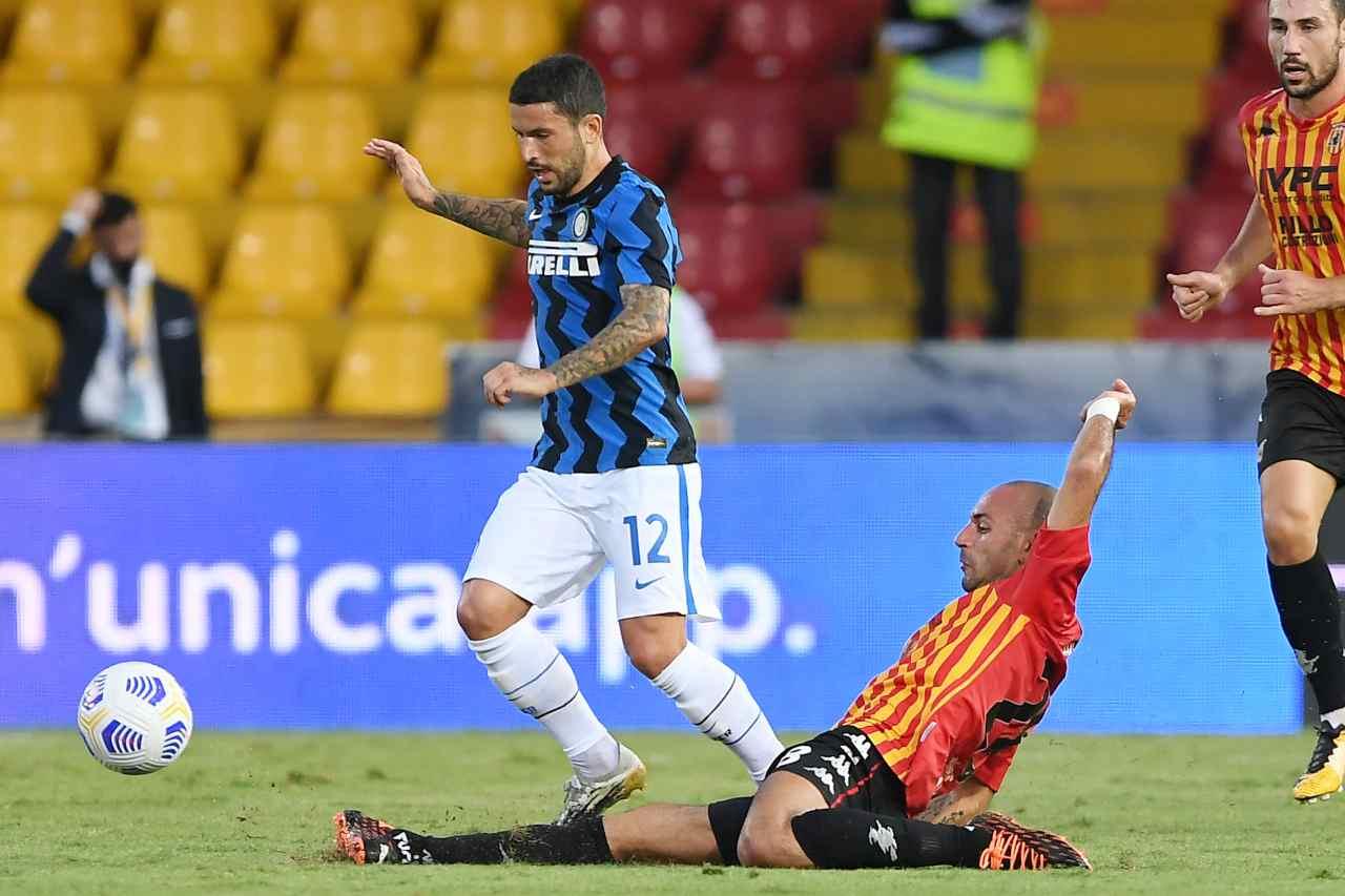 Benevento-Inter, gli highlights del recupero di Serie A