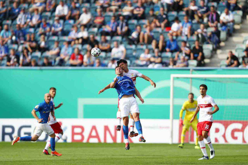 Coppa di Germania, stadio aperto a Rostock (Getty Images)