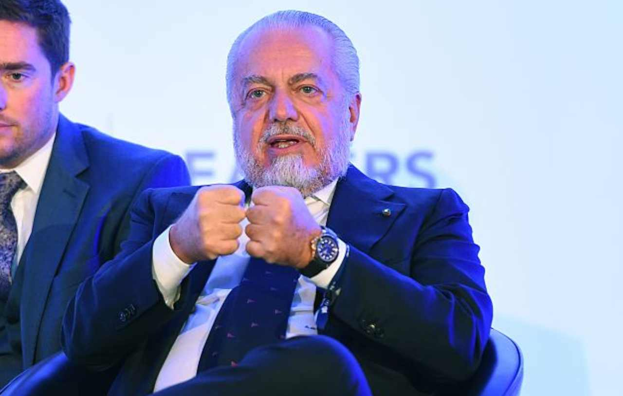 De Laurentiis in contatto con la UEFA (Getty Images)