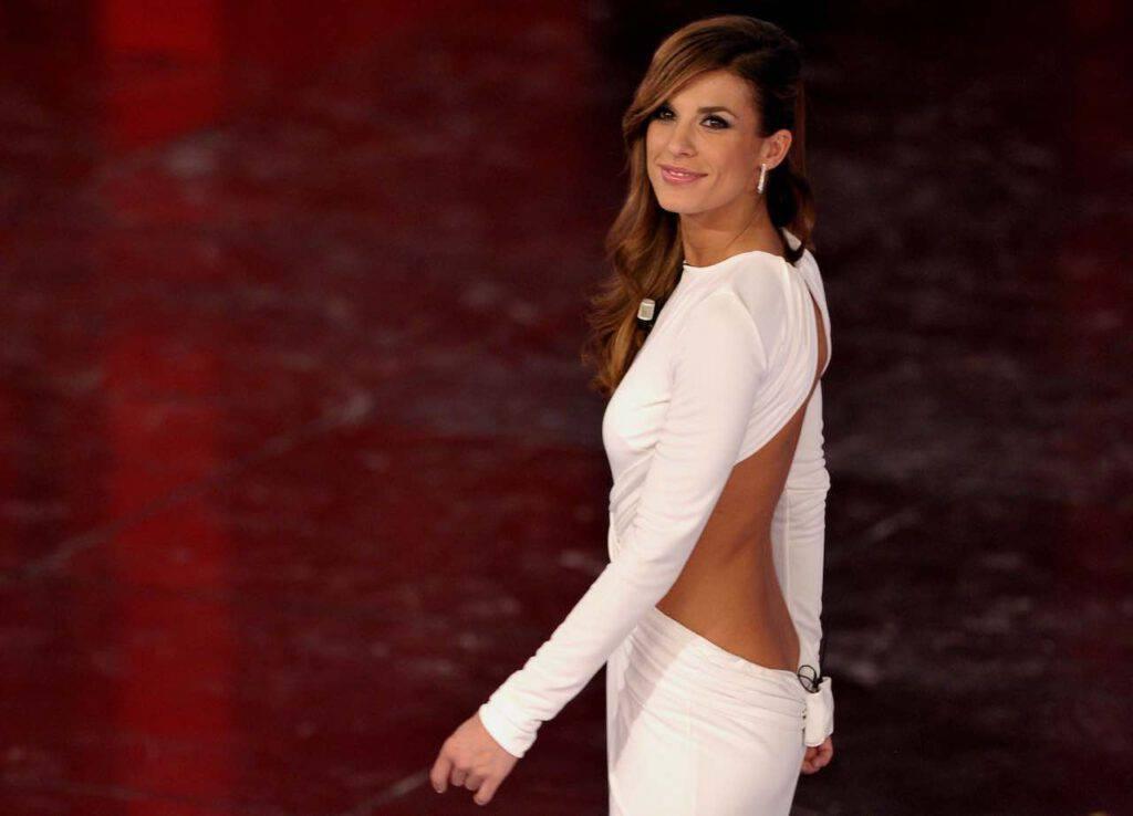 Elisabetta Canalis, fisico mozzafiato in costume (Getty Images)