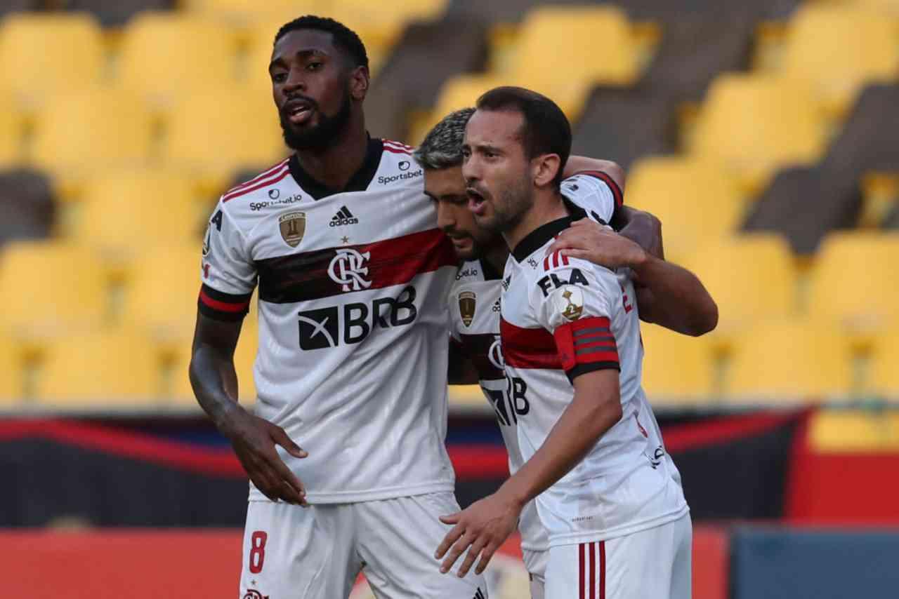 Il Flamengo colpito dal Covid (Getty Images)