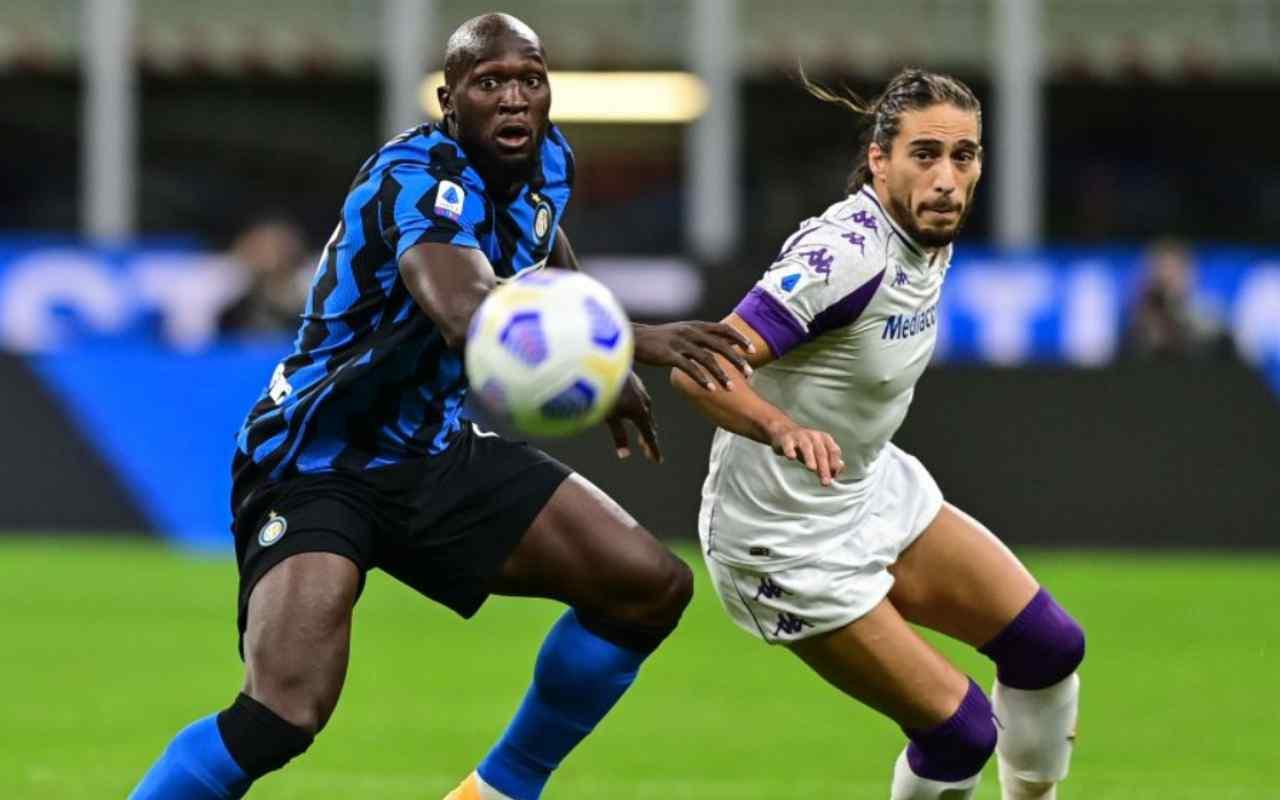 Fiorentina-Inter precedenti