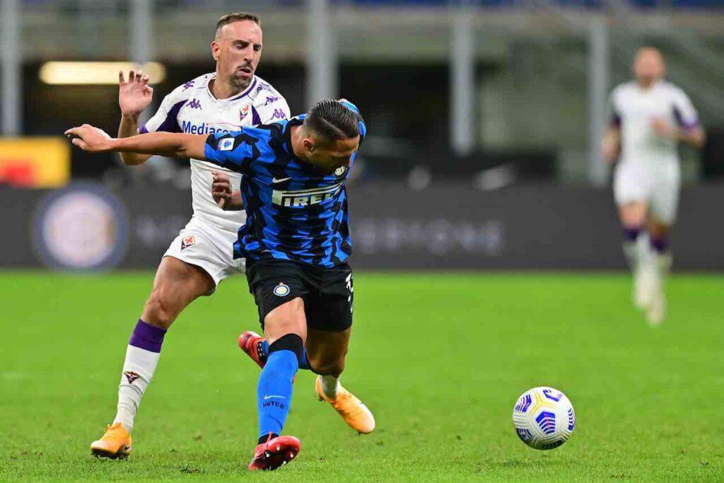 Inter-Fiorentina, la sintesi del match (Getty Images)