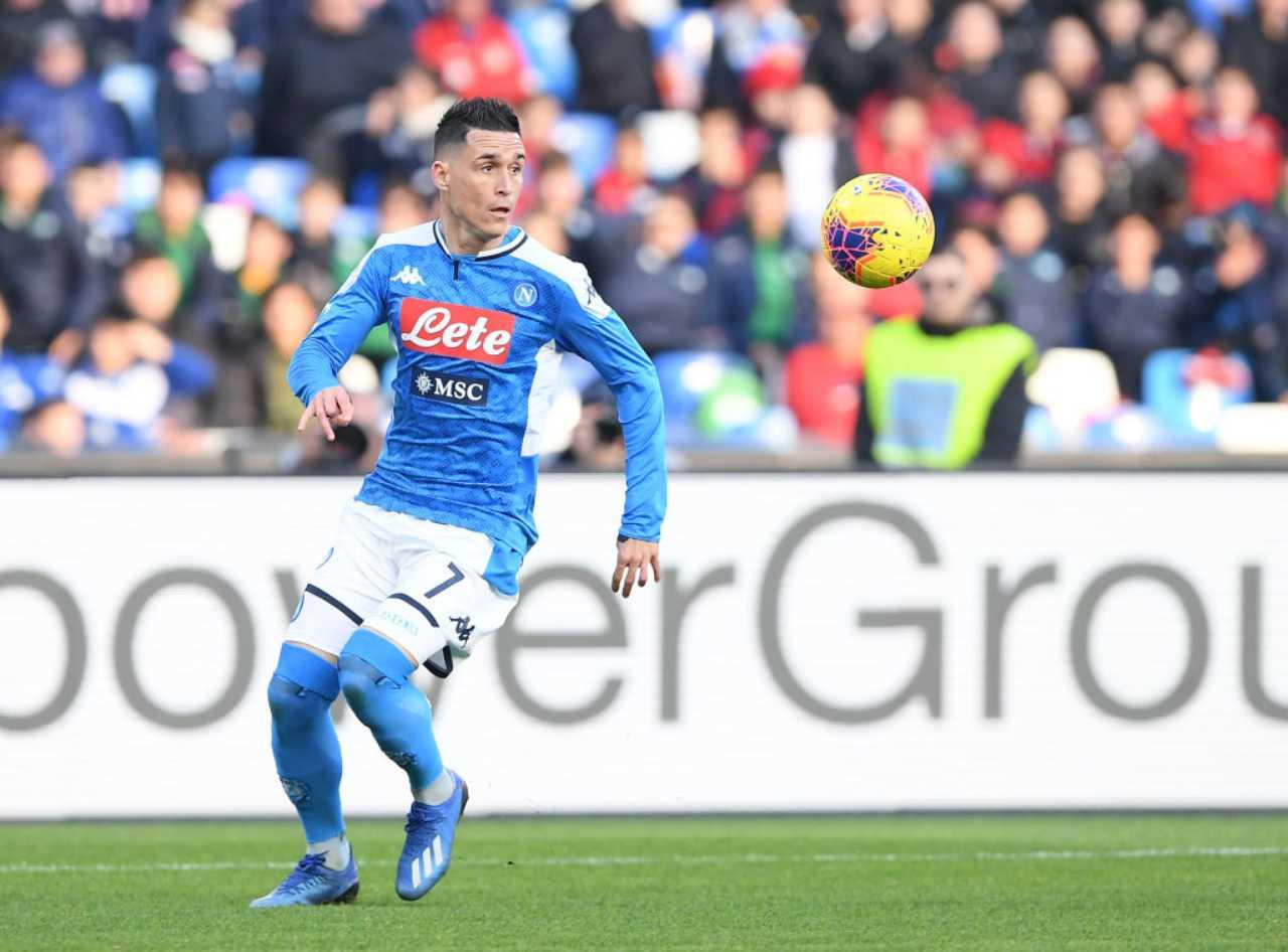Josè Callejon contro il Napoli, i messaggi dei tifosi (Getty Images)