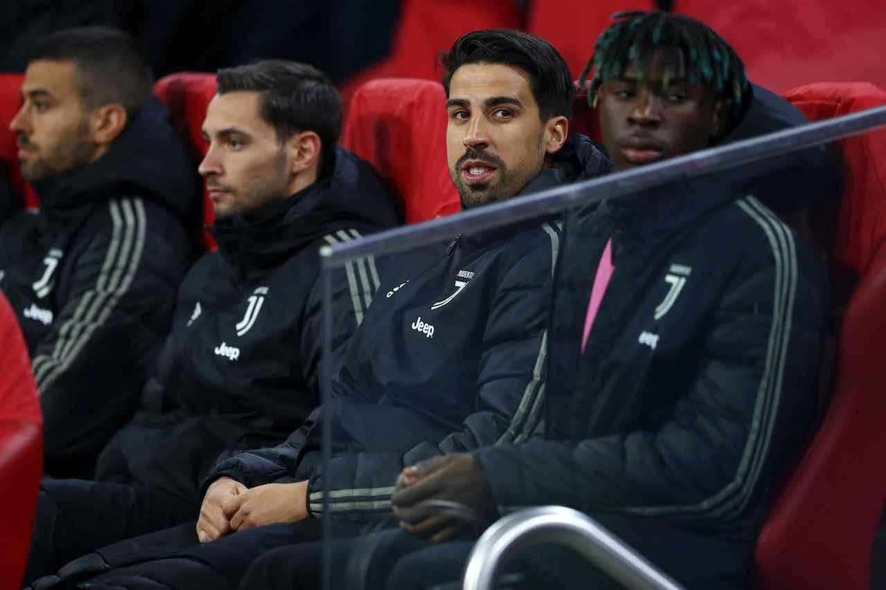 Juventus, problemi con la risoluzione per Khedira (Getty Images)