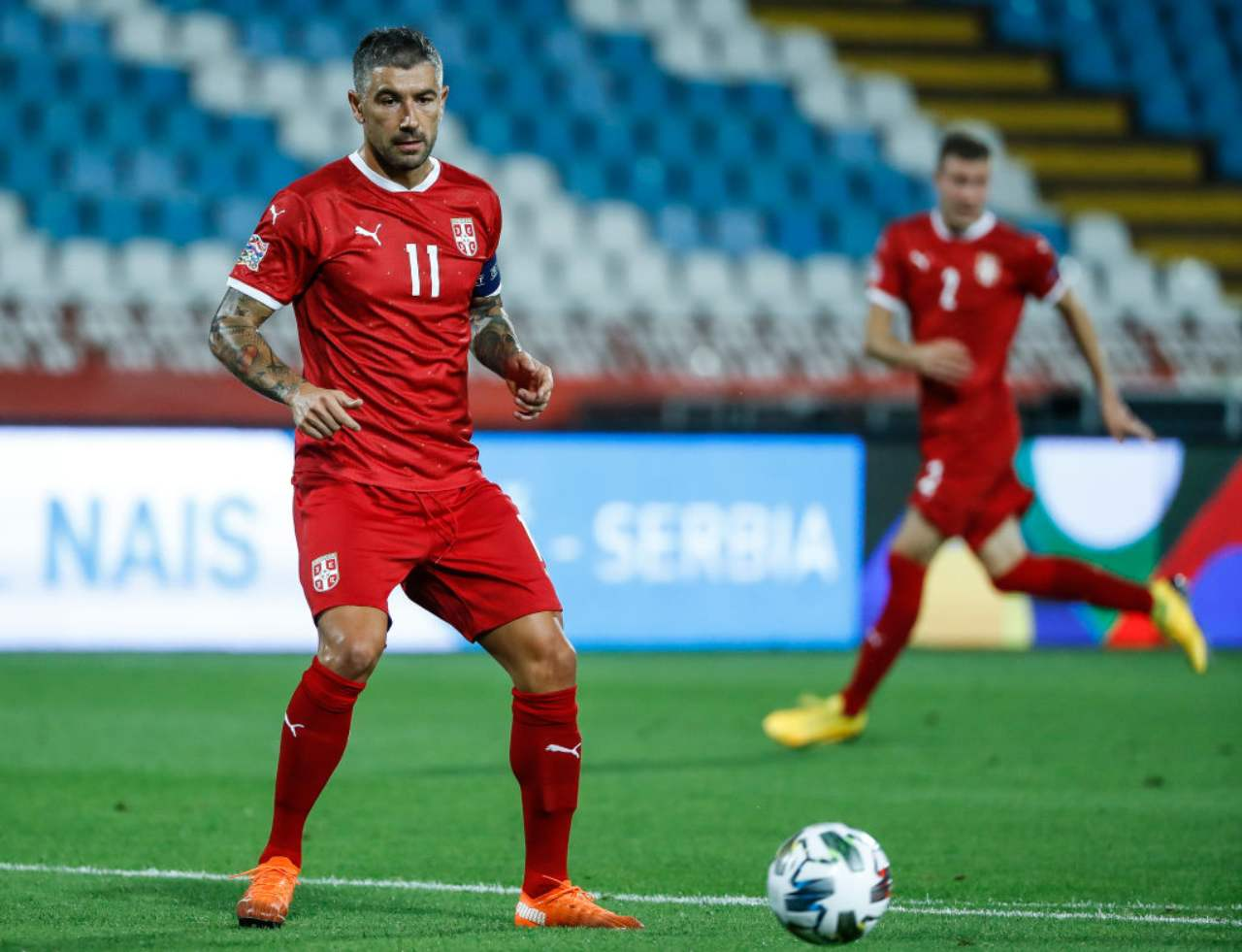 Aleksandar Kolarov è pronto ad iniziare l'avventura all'Inter (Getty Images)
