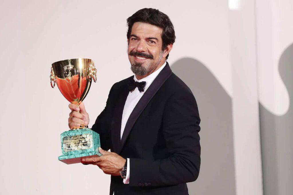 La Roma omaggia Favino per la Coppa Volpi (Getty Images)