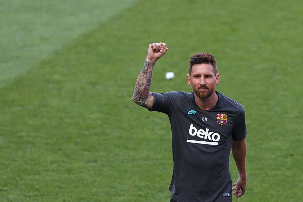 """Lionel Messi, riparte la """"guerra"""" con il Barcellona (Getty Images)"""