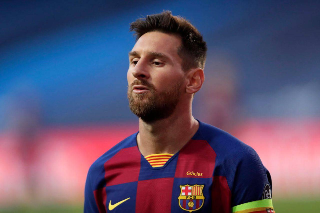 Barcellona, Rakitic parla del futuro di Messi (Getty Images)