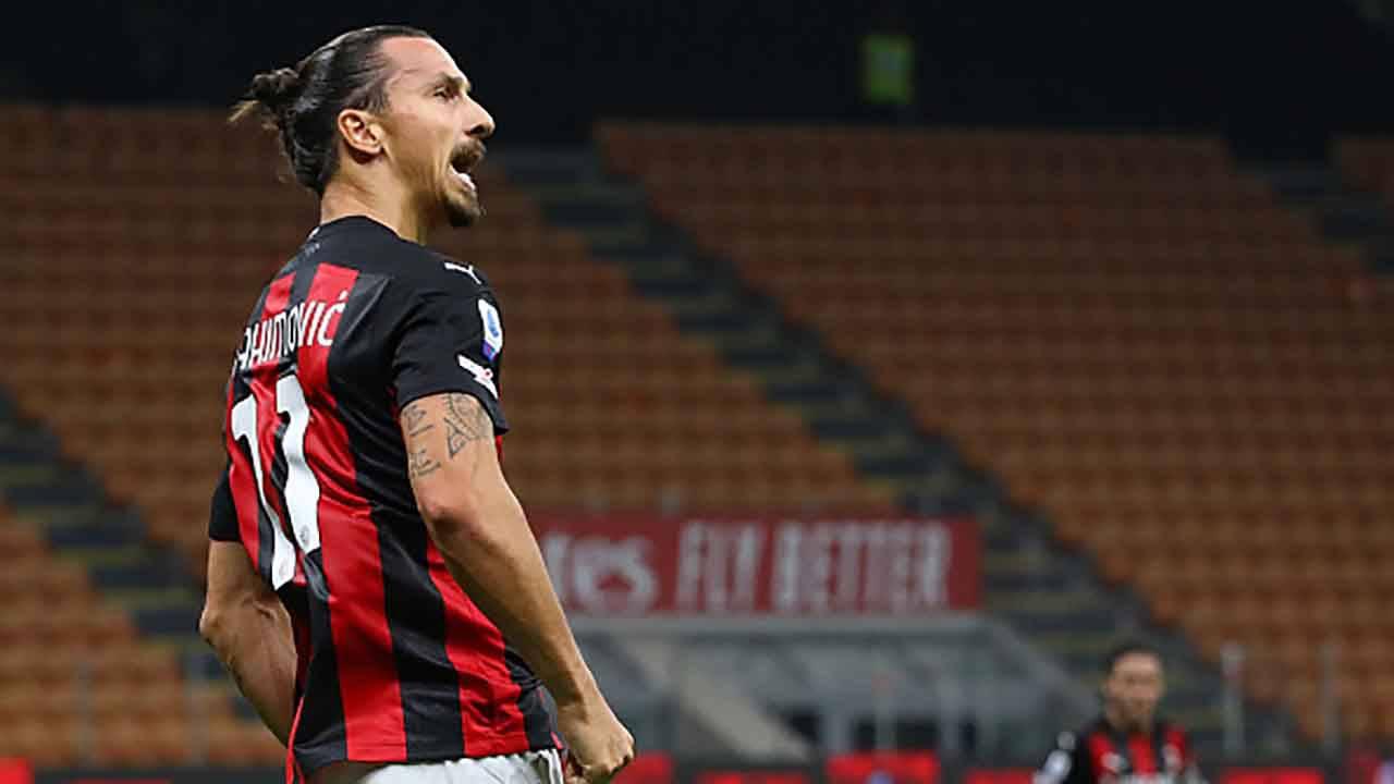 Milan Bologna Ibrahimovic
